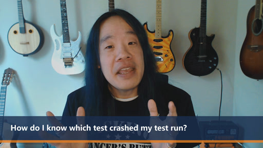 How do I know which test crashed my test run? | One Dev Question
