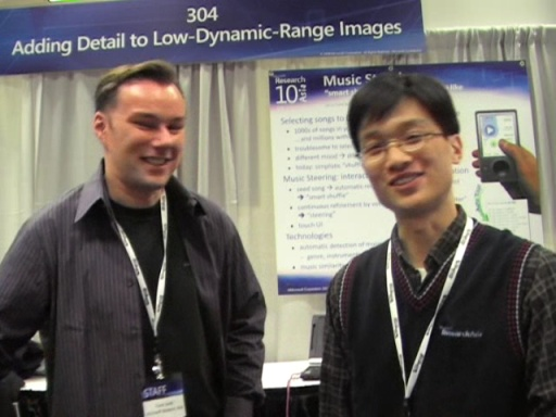 TechFest - Lie Lu and Frank Seide - Music Steering Project