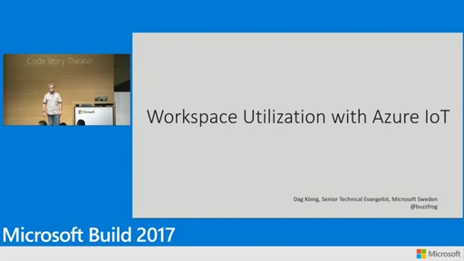 Workspace utilization with Azure IoT