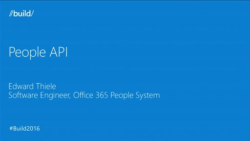 What's New in the People API on the Microsoft Graph