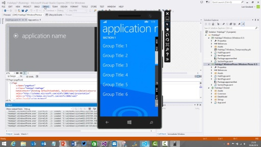 Windows Phone 8.1 App Development - Von der Idee zur App