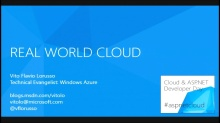 Real World Windows Azure - registrazione incompleta