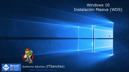 Instalación Limpia Windows 10 con Windows Deployment Services (WDS)