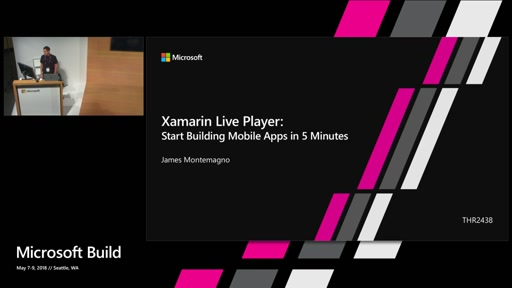 Start building mobile apps in 5 minutes with Xamarin Live Player
