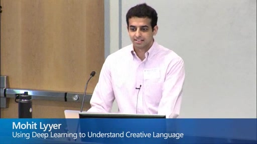 Using Deep Learning to Understand Creative Language