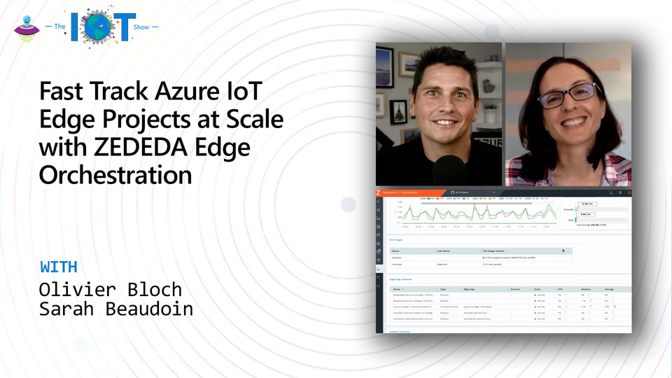 Fast Track Azure IoT Edge Projects at Scale with ZEDEDA Edge Orchestration