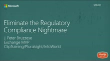 Eliminate the Regulatory Compliance Nightmare