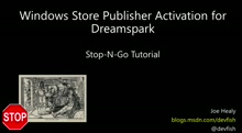 DreamSpark - Activating Your Windows 10 Publisher Account