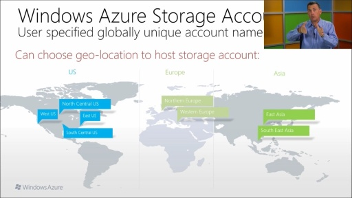 Developing Windows Azure and Web Services: (03) Azure Storage and SQL Database