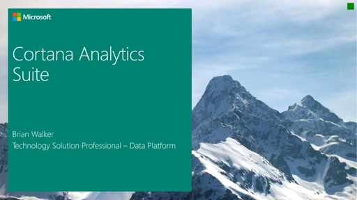 2015-11-23 Cortana Analytics