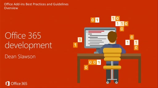 Office Add-Ins Best Practices and Guidelines: Overview