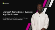 Write, package and distribute apps to just your organization with the LOB app distribution support in teams