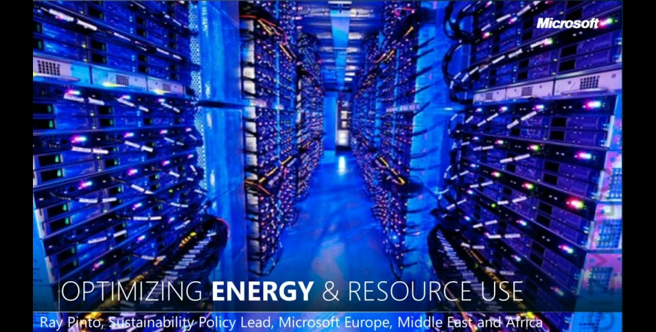 NTK - Optimizing energy & resource use