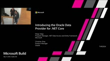 Introducing the Oracle Data Provider for .NET Core