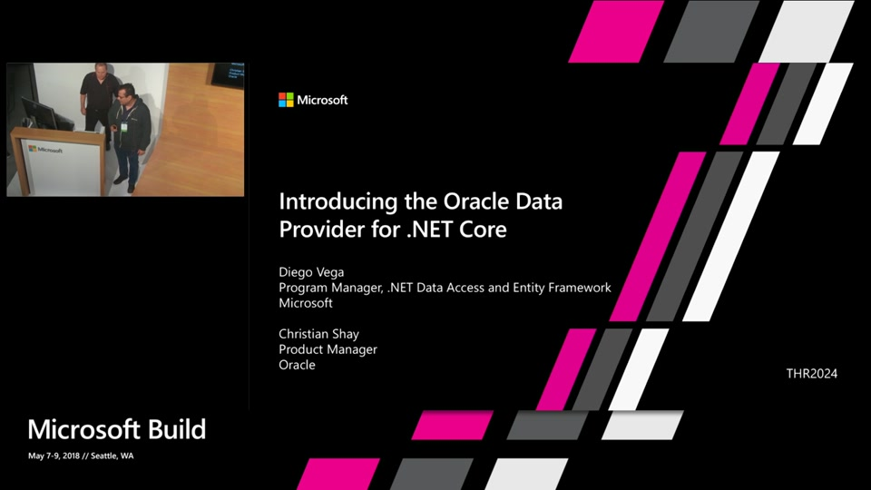 Introducing the Oracle Data Provider for  NET Core