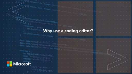 Why use a coding editor | One Dev Question