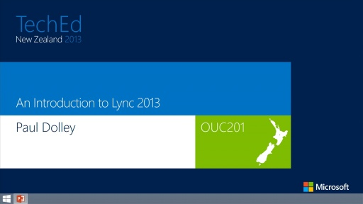 An Introduction to Lync 2013