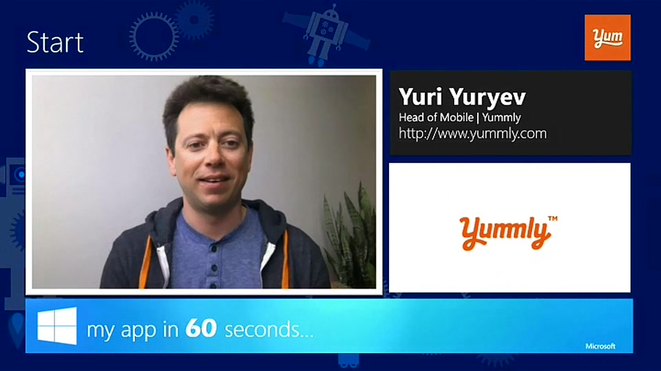 my app in 60 seconds: Yummly for Windows 10