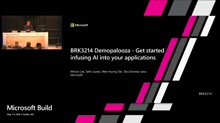Demopalooza - Get started infusing AI into your applications today