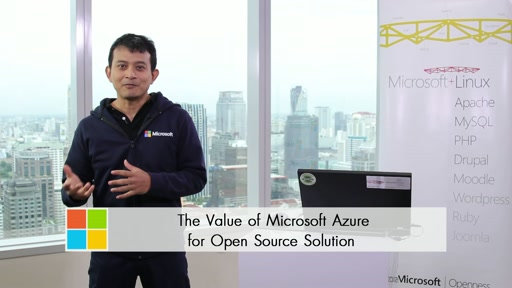 The Value of Microsoft Azure for Open Source Solutions in Thai