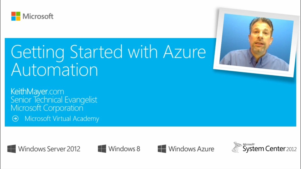 (Module 1) Getting Started with Azure Automation