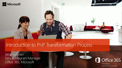 Introduction to PnP Transformation Process