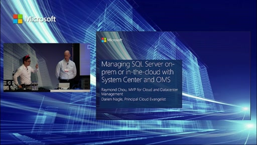 Hybrid Management: Managing SQL on-prem or in-the-cloud with System Center and OMS