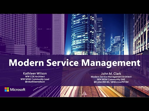 Modern Service Management for Azure