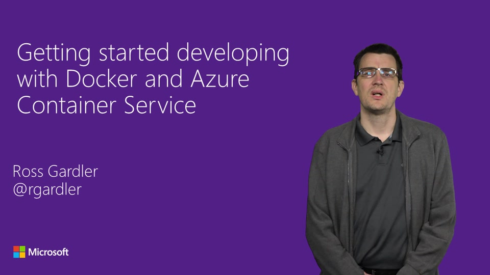 Getting started developing with Docker and Azure Container Service