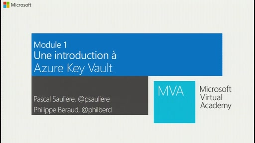 Introduction à Azure Key Vault