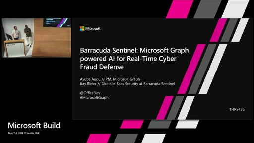 Barracuda Sentinel: Microsoft Graph powered AI for real-time cyber fraud defense