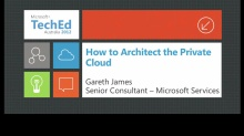 How to Architect the Private Cloud
