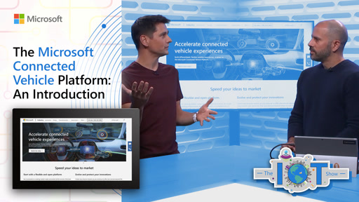The Microsoft Connected Vehicle Platform: An Introduction
