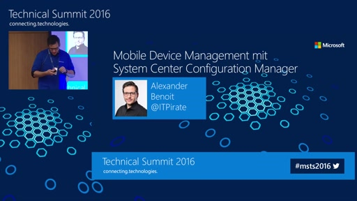 Mobile Device Management für Android, iOS und Windows 10 mit SCCM