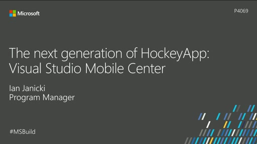 The next generation of HockeyApp: Visual Studio Mobile Center (now Visual Studio App Center)