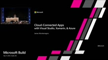 Cloud-connected apps with Visual Studio, Xamarin, and Azure