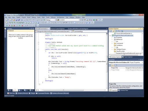 Visual Studio ALM Rangers Architecture Tooling Guidance - Show how to extend the guidance extension
