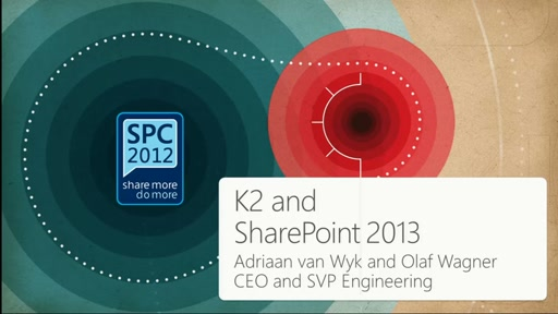 K2: K2 and SharePoint business applications – Fast