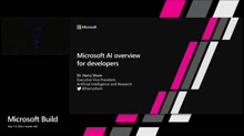 Microsoft AI overview for developers