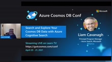 Search and Explore your Cosmos DB data with Azure Cognitive Search