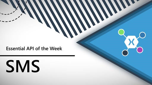SMS (Xamarin.Essentials API of the Week)