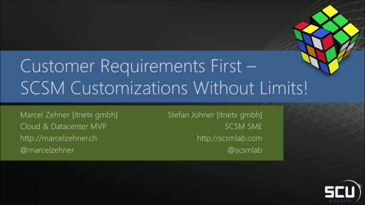 Customer requirements first - Service Manager customizations without limits