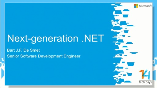 Next-generation .NET