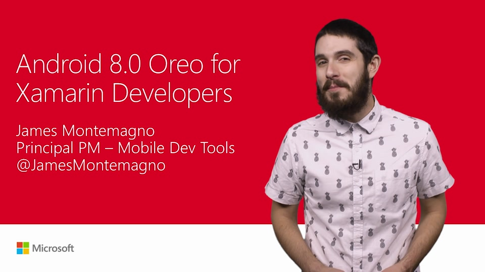 Android 8.0 Oreo development with C#