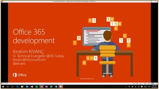 3 - Office 365 Development - Office Add-ins & Microsoft Graph