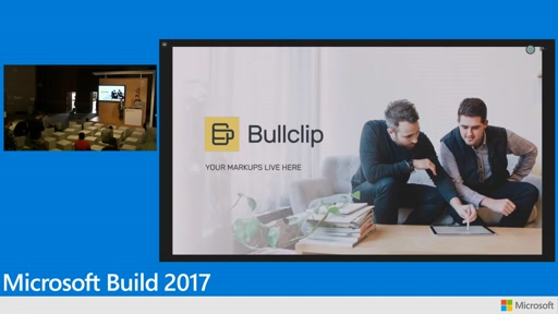Bullclip: Differentiating UX with UWP experiences in a connected devices environment