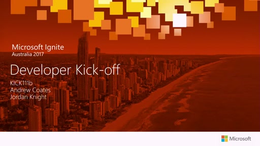Kick-off: .NET Development