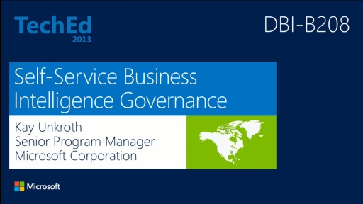 Self-Service Business Intelligence Governance