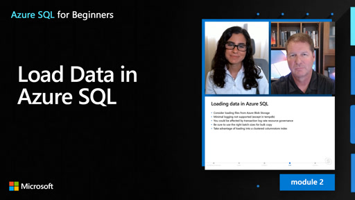 Load Data in Azure SQL (18 of 61)