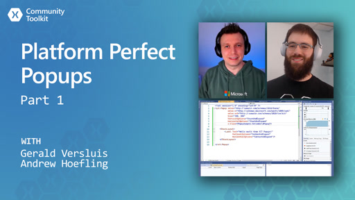 Platform Perfect Popups - Part 1 (Xamarin Community Toolkit)